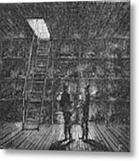 Refrigerated Ship, 1876 Metal Print by Granger