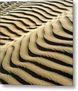 Rippled Sand Dunes Metal Print by Tek Image