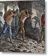 Roman Slavery: Coal Mine Metal Print by Granger
