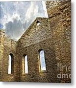 Ruins Of A Church In South Glengarry Metal Print by Sandra Cunningham