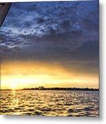 Sailing Sunset Charleston Sc Metal Print by Dustin K Ryan