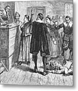 Salem Witch Trials, 1692 Metal Print by Granger