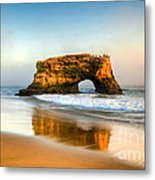 Santa Cruz Metal Print by Kelly Wade