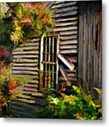 Shed Metal Print by Suni Roveto