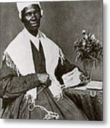 Sojourner Truth, African-american Metal Print by Photo Researchers