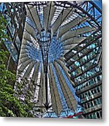 Sony Center - Berlin Metal Print by Juergen Weiss