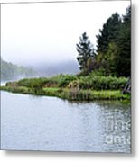 Spring Morning Big Ditch Lake Metal Print by Thomas R Fletcher