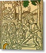St. Catherine, Italian Philosopher Metal Print by Science Source