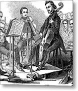 String Quartet, 1846 Metal Print by Granger