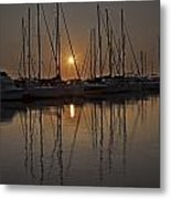 Sunset Metal Print by Joana Kruse