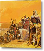 The Crusades Metal Print by Gerry Embleton