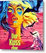 The Kiss Of The Vampire, Aka Kiss Of Metal Print by Everett
