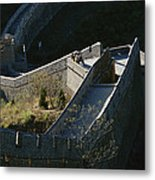 The Simatai Section Of The Great Wall Metal Print by Raymond Gehman