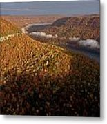 The Tennessee River Cuts Through Signal Metal Print by Stephen Alvarez