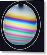 Thin Film Interference Metal Print by Andrew Lambert Photography