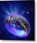Torus Universe, Artwork Metal Print by Mehau Kulyk