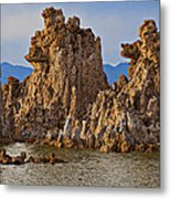Tufa Mono Lake California Metal Print by Garry Gay