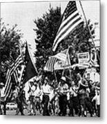 Us Civil Rights. Demonstrators Metal Print by Everett