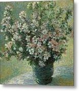 Vase Of Flowers  Metal Print by Claude Monet