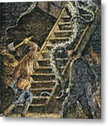 Verne: 20,000 Leagues, 1870 Metal Print by Granger