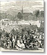Washington: Abolition, 1866 Metal Print by Granger