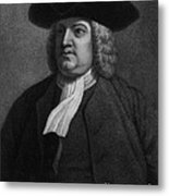 William Penn, Founder Of Pennsylvania Metal Print by Photo Researchers