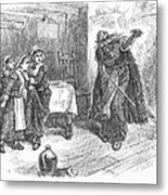 Witch Trial: Tituba, 1692 Metal Print by Granger
