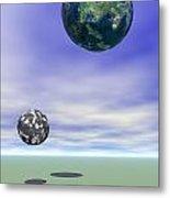 Planets Metal Print by Odon Czintos