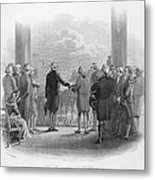Washington: Inauguration Metal Print by Granger