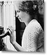 Helen Adams Keller Metal Print by Granger