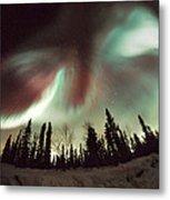 Aurora Borealis Metal Print by Chris Madeley