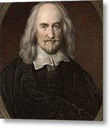 1660 Thomas Hobbes English Philosopher Metal Print by Paul D Stewart
