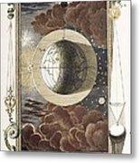 1731 Johann Scheuchzer Creation 4th Day B Metal Print by Paul D Stewart