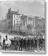 1866 Race Riot In New Orleans Was One Metal Print by Everett