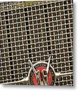 1930 Cadillac 452 Fleetwood Grille Emblem Metal Print by Jill Reger