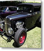 1931 Ford Victoria . 5d16454 Metal Print by Wingsdomain Art and Photography