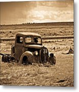 1938 Ford Pickup Metal Print by Steve McKinzie