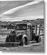 1939 Ford Truck Bodie Ca Metal Print by Troy Montemayor