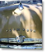 1949 Plymouth Delux Sedan . 5d16206 Metal Print by Wingsdomain Art and Photography