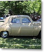1949 Plymouth Delux Sedan . 5d16208 Metal Print by Wingsdomain Art and Photography