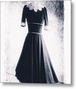 1950s Dress Metal Print by David Ridley