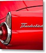 1955 Ford Thunderbird Metal Print by David Patterson