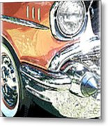 1957 Chevy Metal Print by Steve McKinzie