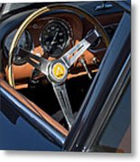 1963 Apollo Steering Wheel     Metal Print by Jill Reger