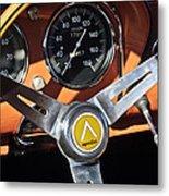 1963 Apollo Steering Wheel 2 Metal Print by Jill Reger