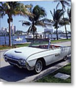 1963 Ford Thunderbird Metal Print by Fpg