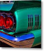 1966 Ford Thunderbird Metal Print by David Patterson
