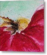 Abstract Flower  Metal Print by Ismeta Gruenwald