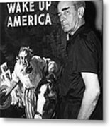 American Artist And Cartoonist James Metal Print by Everett