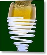 Boiled Egg In An Eggcup, X-ray Metal Print by D. Roberts